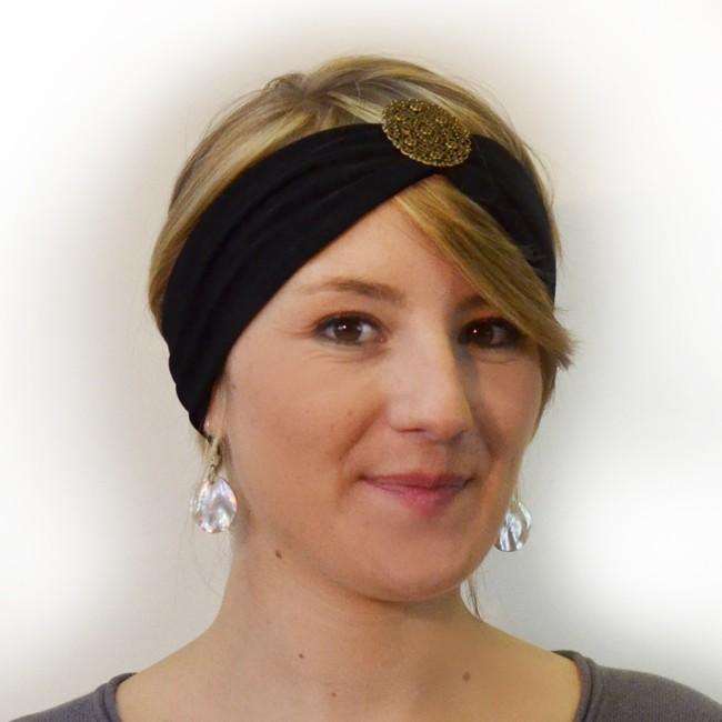 bandeau loubna bronze cheveux
