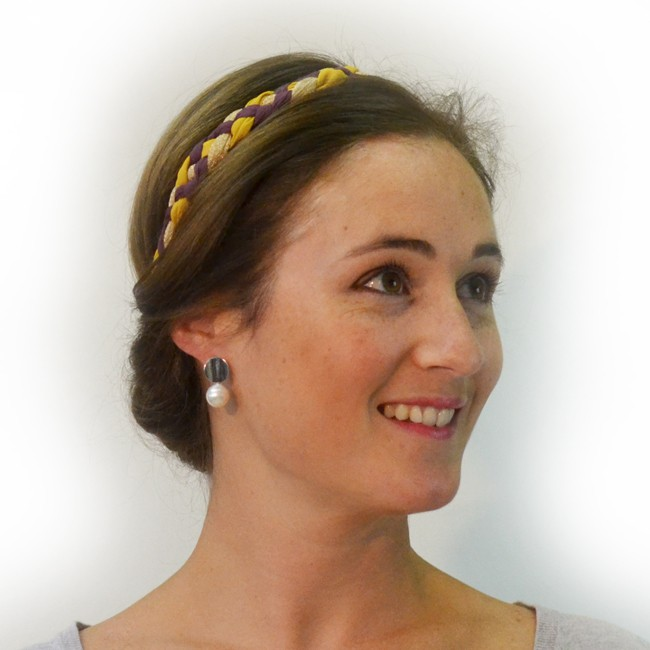headband hanna gold cheveux
