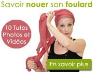 savoir nouer un foulard