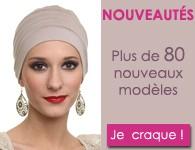 Nouveautés foulards turbans