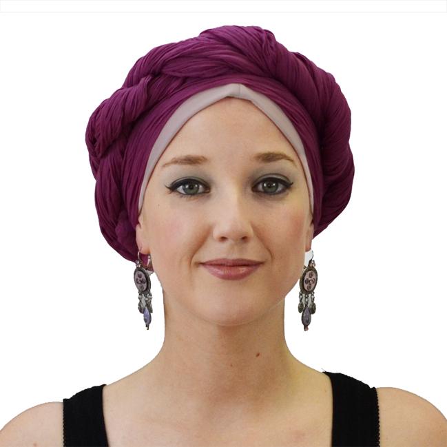 Tutoriel 5  Comment nouer un turban chimio , façon turban \u0026quot;balso\u0026quot; ?