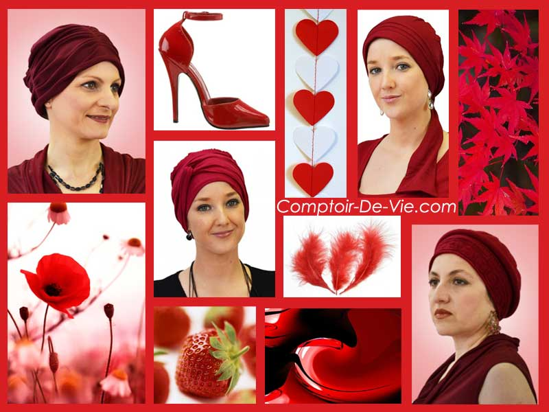 couleur rouge