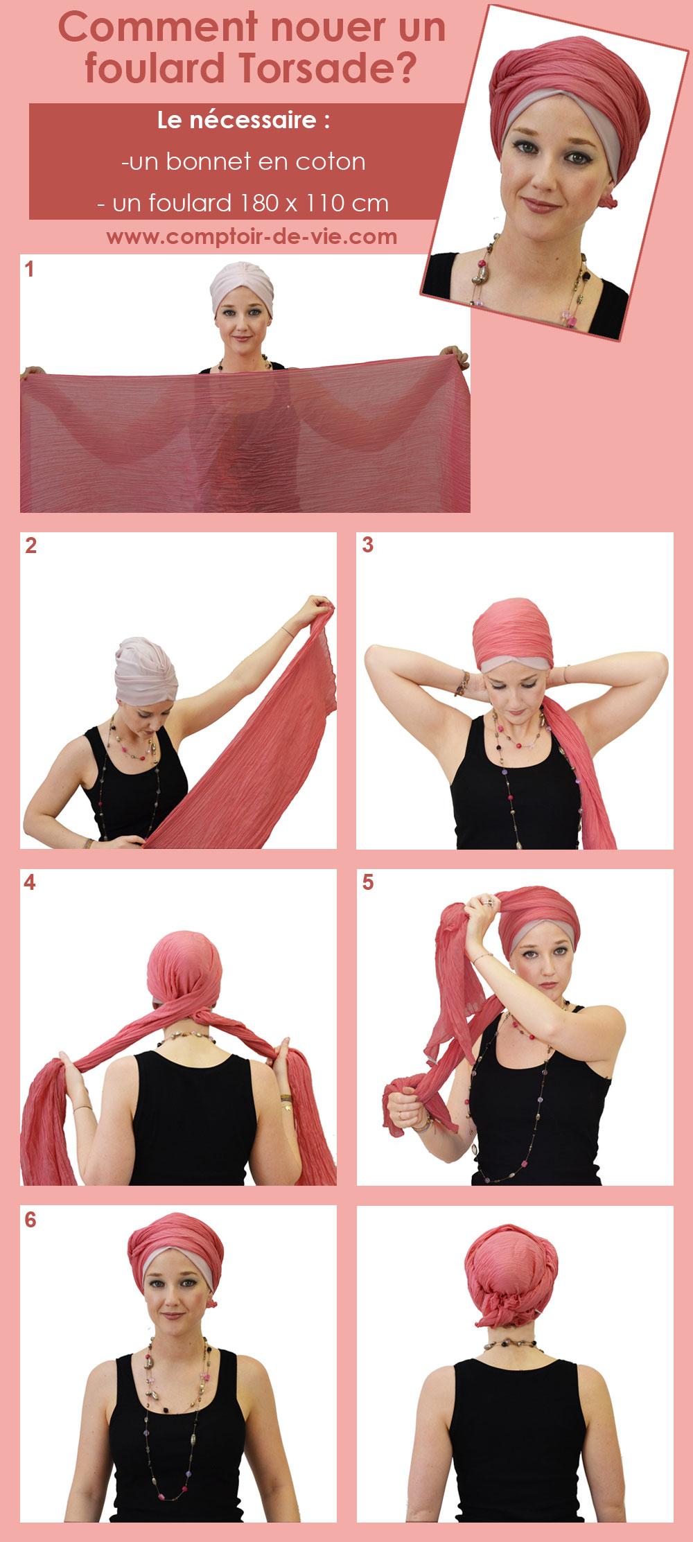 bf4db59fcc9c Comment nouer un turban - façon turban