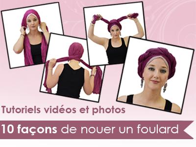 tutoriels foulards
