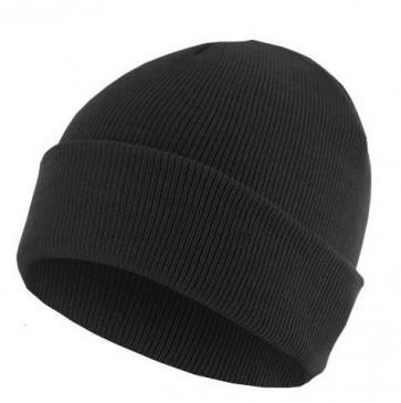 Bonnet homme Basic Flap - Noir - Masterdis