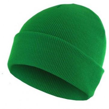 Bonnet homme Basic Flap - Vert - Masterdis