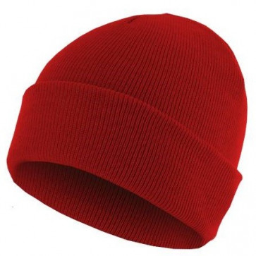 Bonnet homme Basic Flap - Rouge - Masterdis