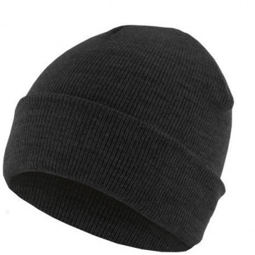 Bonnet homme Basic Flap - Charcoal - Masterdis