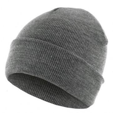 Bonnet homme Basic Flap - Gris - Masterdis