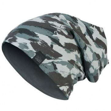 Bonnet Street Réversible Camouflage / Gris pour homme - Masterdis