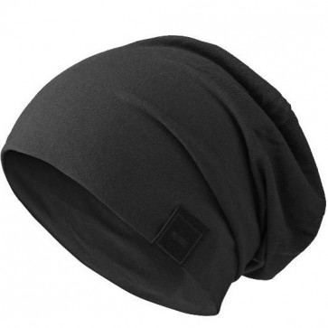 Bonnet Jersey sans couture pour homme - noir