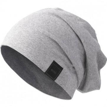 Bonnet Jersey sans couture pour homme - Gris chiné