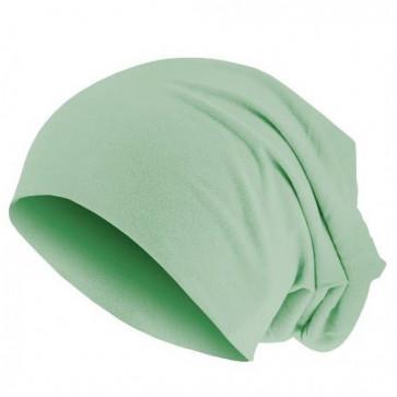 Bonnet sans couture - vert menthe