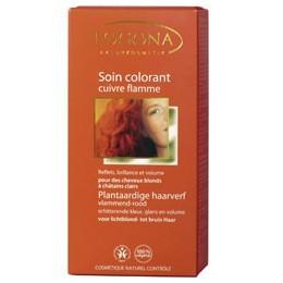 Soin colorant végétal - Cuivre Flamme - Logona