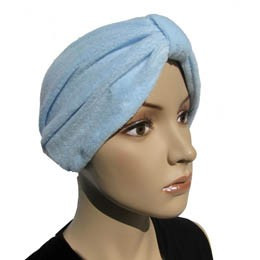 Bonnet éponge Kim bleu ciel