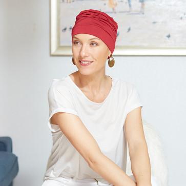Turban pour femme Manille rouge - Comptoir de Vie