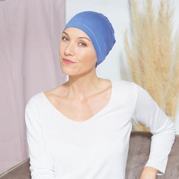 Bonnet de nuit Oslo bleu - Comptoir de Vie