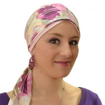 Bandeau pour cheveux - Roses rose - Marie L Création