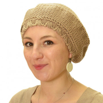 Bonnet Prague beige - Seeberger
