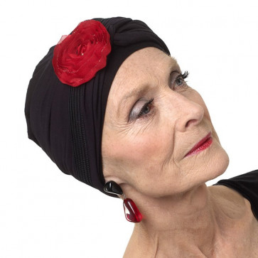 Bijou de turban URSULA - Rouge - MM Paris