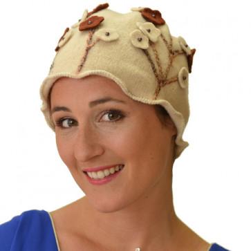 Bonnet chimio Termolana - Beige - Complit