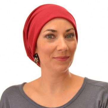 Bonnet chimio - Rouge