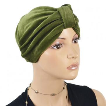 Bonnet en éponge Kim kaki - NJCréation