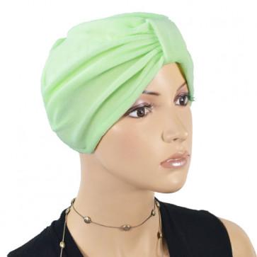 Bonnet en éponge Kim menthe - NJCréation