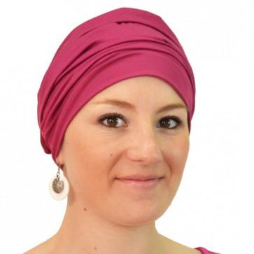 Bonnet de bain Iris rose - Look Hat Me