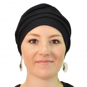 Bonnet de bain Iris noir - Look Hat Me