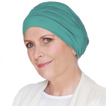 Bonnet de bain Iris turquoise - Look Hat Me