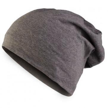 Bonnet homme Beanie en coton - Gris - Masterdis