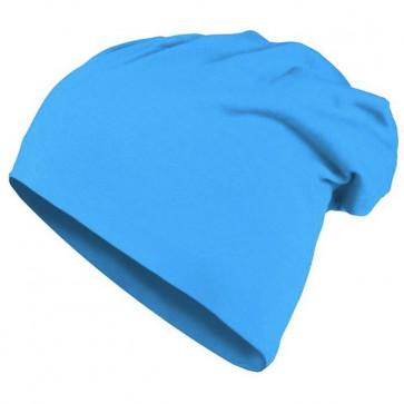 Bonnet homme Beanie en coton - Turquoise - Masterdis
