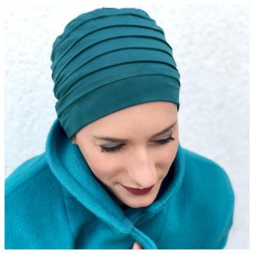 Bonnet Bambou LOLA Bleu canard - MM Paris