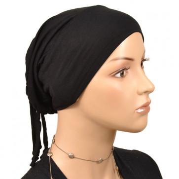 Bonnet de nuit pratique noir