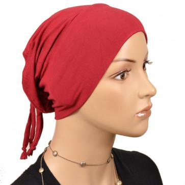 Bonnet pratique pour la nuit rouge