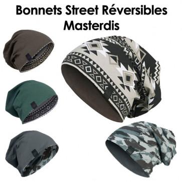 Bonnets Street Réversibles pour homme - Masterdis