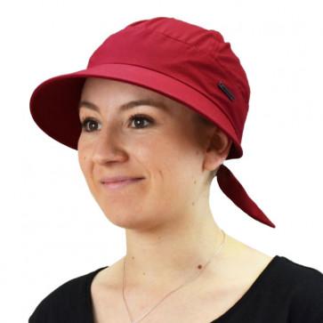 Casquette Palma anti UV Rouge - Seeberger