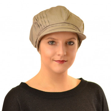 Casquette Lima taupe - Seeberger