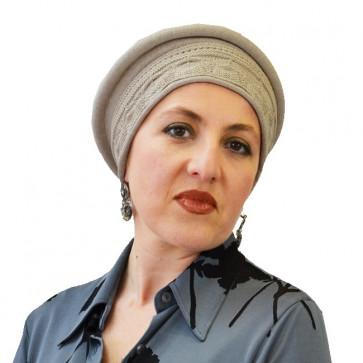 Chapeau Eloïse beige en coton - IDHATS