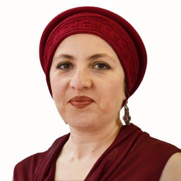 Chapeau Eloïse rouge en coton - IDHATS