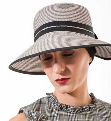 Chapeau Morgane - MM Paris-Gris perle
