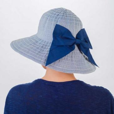 Chapeau Sylvia bleu - MM Paris