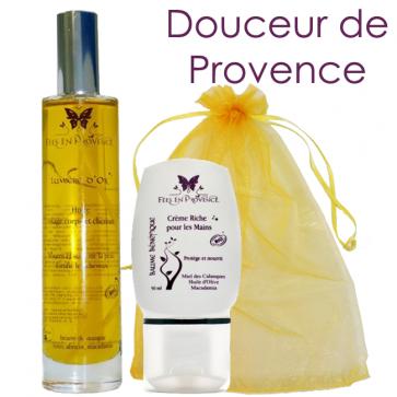 Coffret Douceur de Provence - 1 huile + 1 crème mains