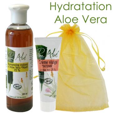 Coffret Hydratation à l'Aloe Vera Bio - Pur'Aloe