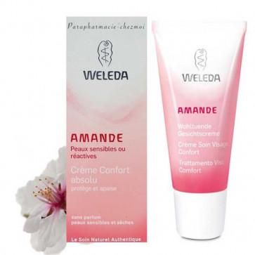 Crème soin du visage peaux sensibles l'amande douce - Weleda