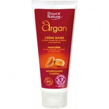 Crème mains à l'huile d'argan et au karité bio - Douce Nature