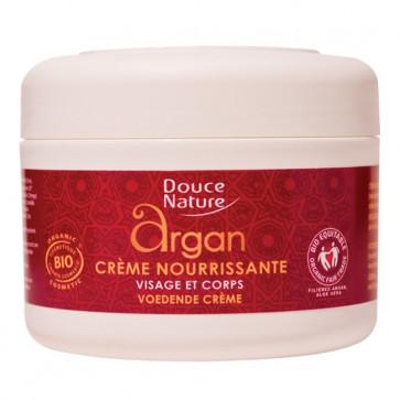Crème nourrissante Argan visage et corps - Douce Nature