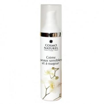 Crème peaux sensibles et à rougeurs - COSMO NATUREL