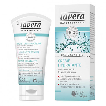Crème hydratante visage Bio - Basis Sensitiv de Lavera